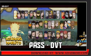 Download Naruto Senki Storm 4 V1.19 Apk link from Mediafire for Android