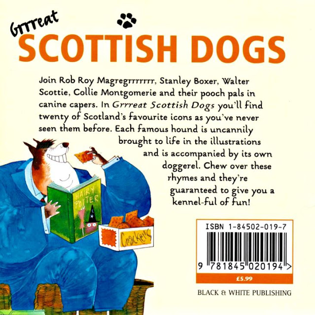Grrreat Scottish Dogs Back Cover