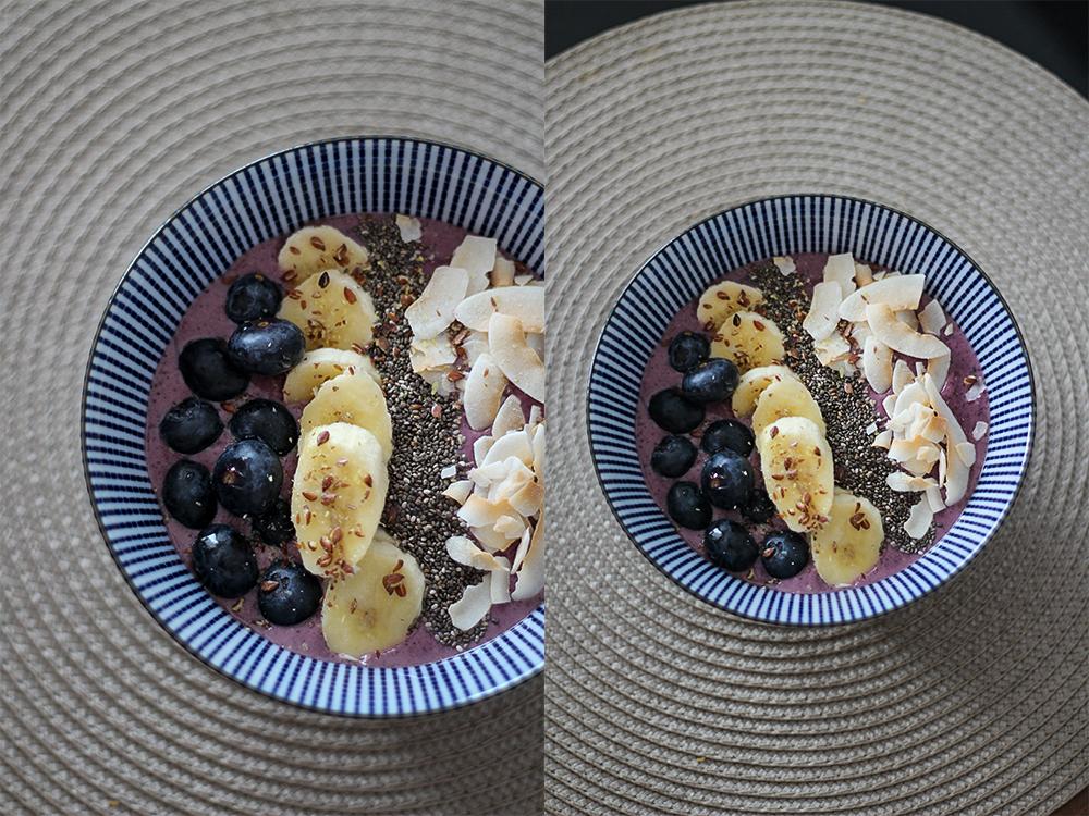 Acai Bowl mit Bananen Rezept