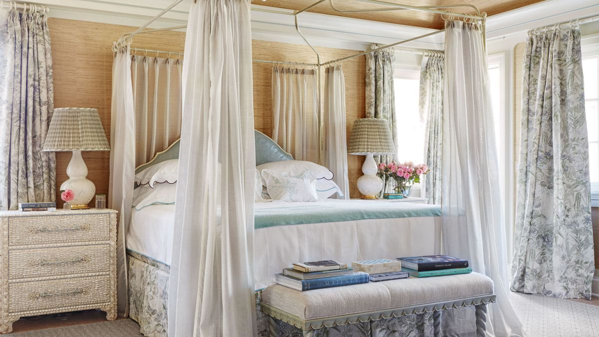Decor inspiration a dreamy summer home in east hampton - Tende per casa al mare ...