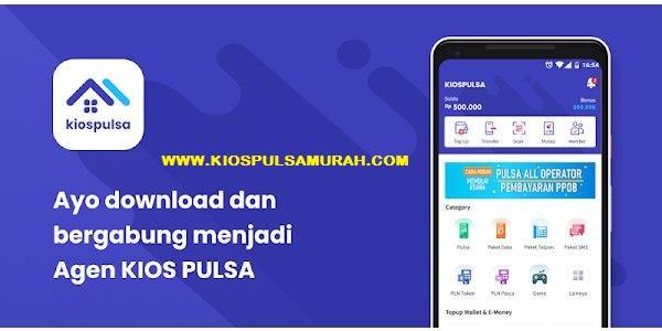 Download Aplikasi Android KIOS Pulsa Mobile Topup Pulsa Termurah