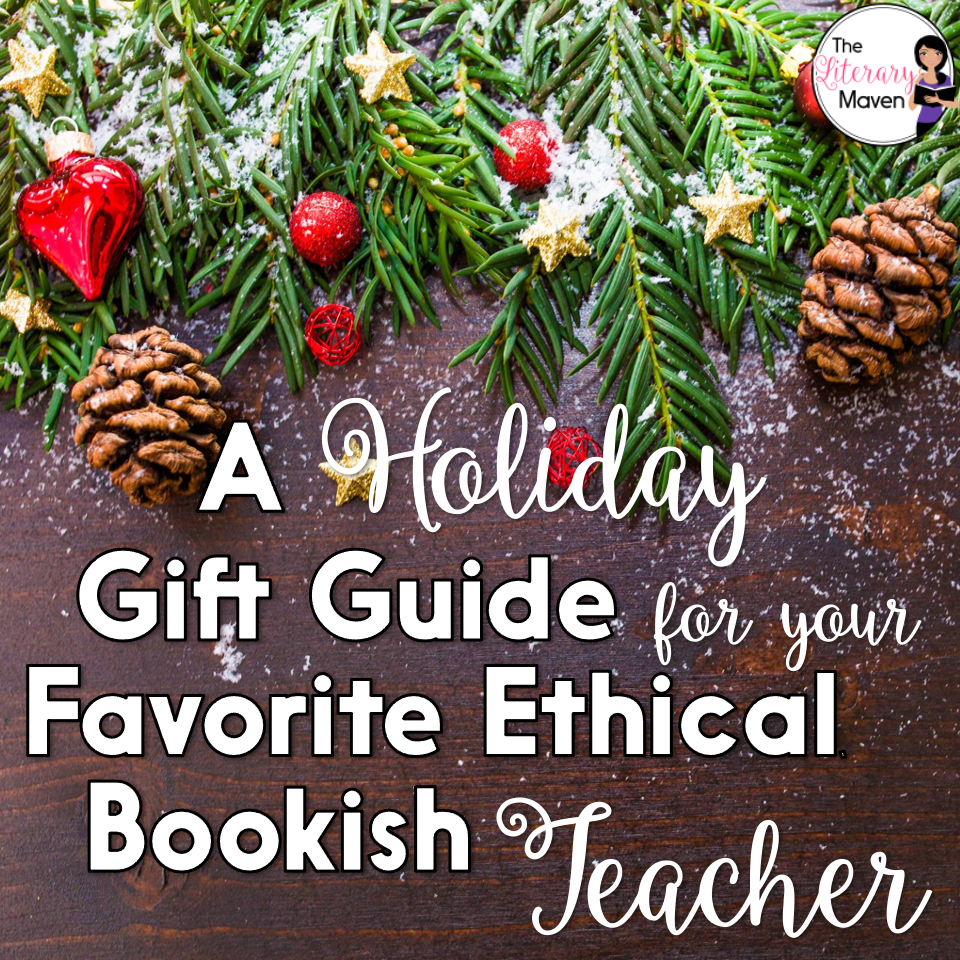 If the loved one you are looking for a gift for is a teacher who loves books and doing good in the world, then look no further than this list.