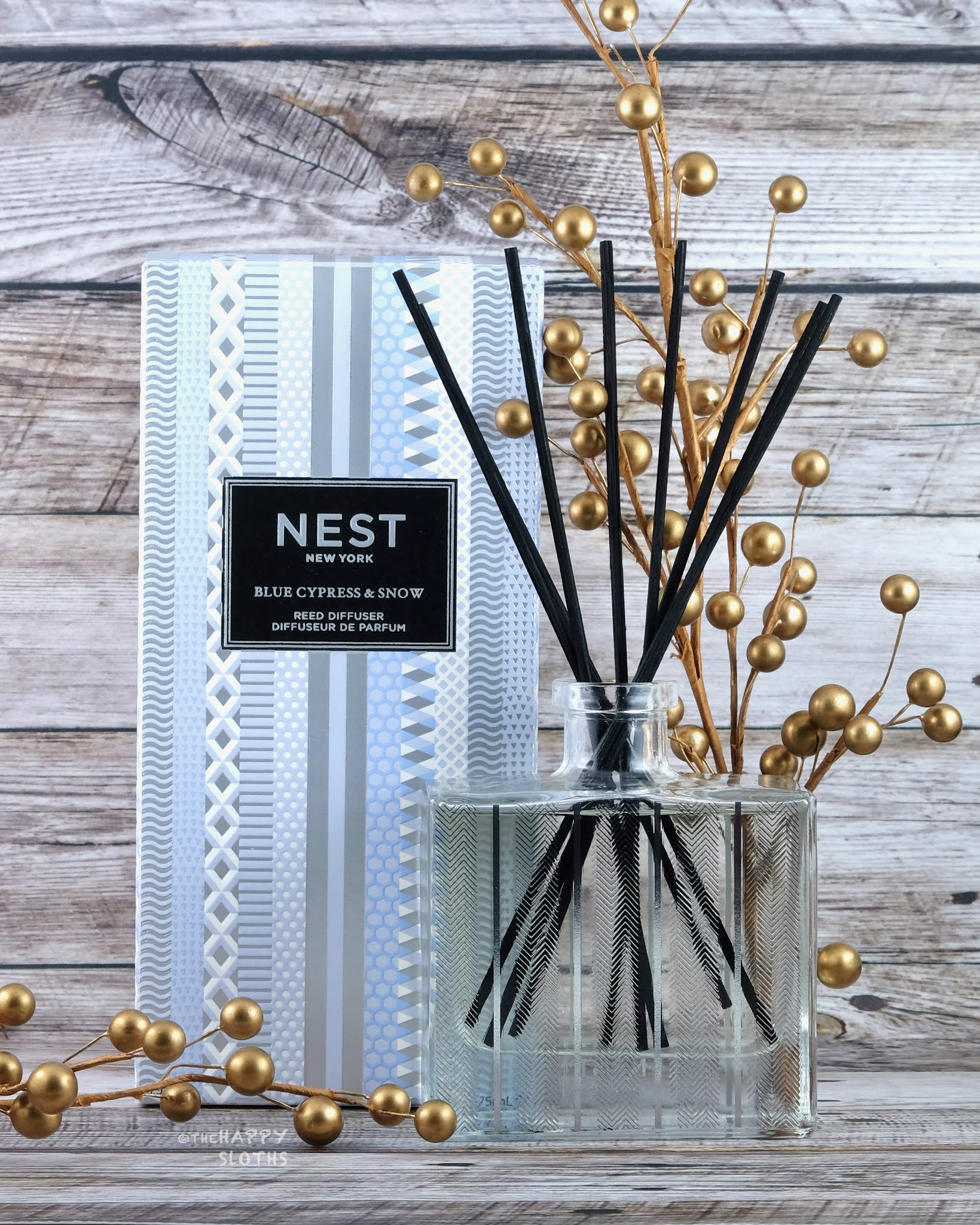 NEST New York | Holiday 2020 Blue Cypress & Snow Diffuser: Review
