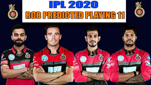 IPL 2020 Predicted Playing 11 for Royal Challengers Bangalore
