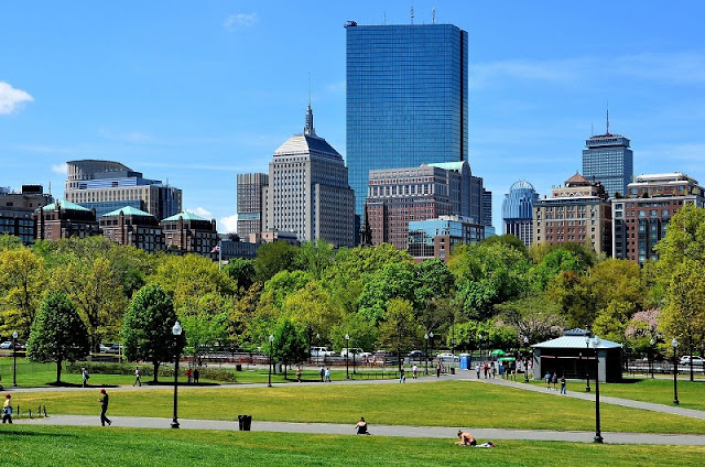 Boston Common e Boston Public Garden em Boston