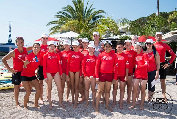 "Princess Charlene of Monaco attended the 'Water Safety Day"" that was organised on the Larvotto Beach in Monaco"