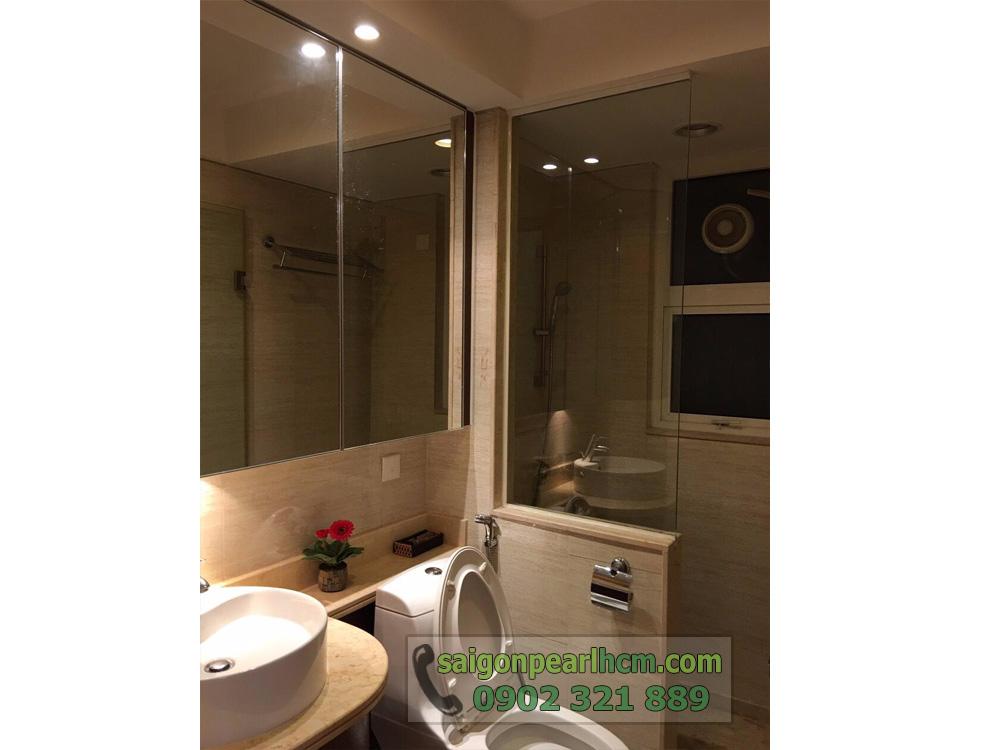 căn hộ cho thuê Saigon Pearl Ruby 2 tầng cao giá thuê cực tốt - hình 8
