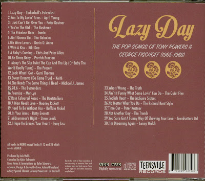 Lazy Day: The Pop Songs of Tony Powers & George Fischoff 1965-1968