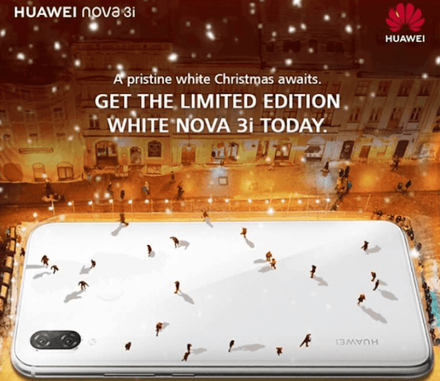 Huawei Nova 3i limited edition pearl white variant lands in the Philippines