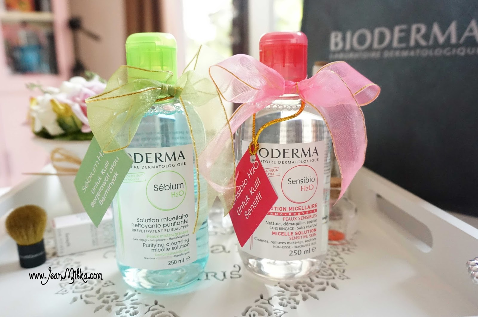 Bioderma Sebium and Sensibio H2O
