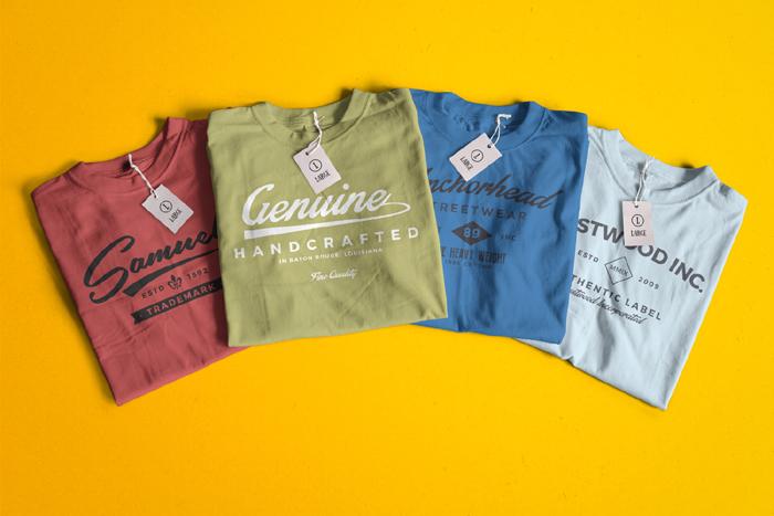 Infinity Color T Shirt Mockups