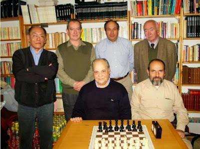 La selección catalana de veteranos en 2004