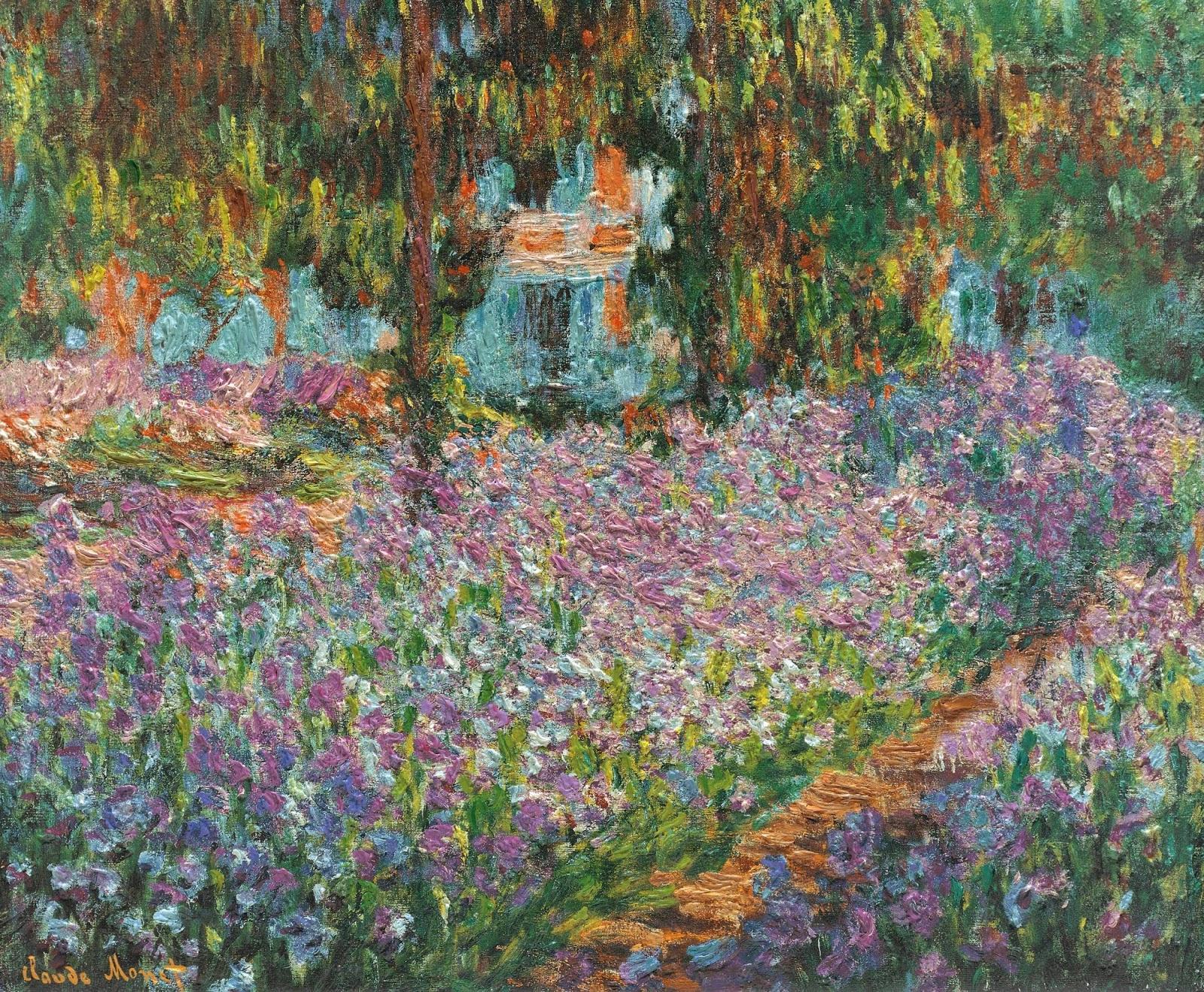 Histoire des Jardins Giverny le jardin du peintre Monet