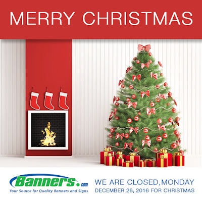 Merry Christmas! We will be closed on December 26th for Christmas