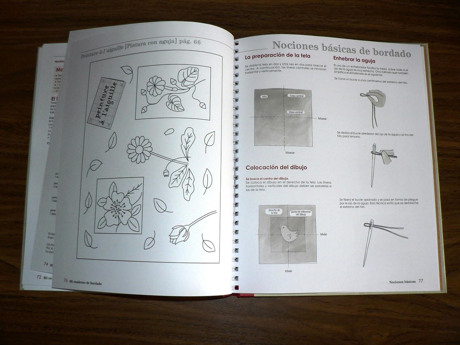 La costurera entrometida: Libros de costura: Mi cuaderno de bordado