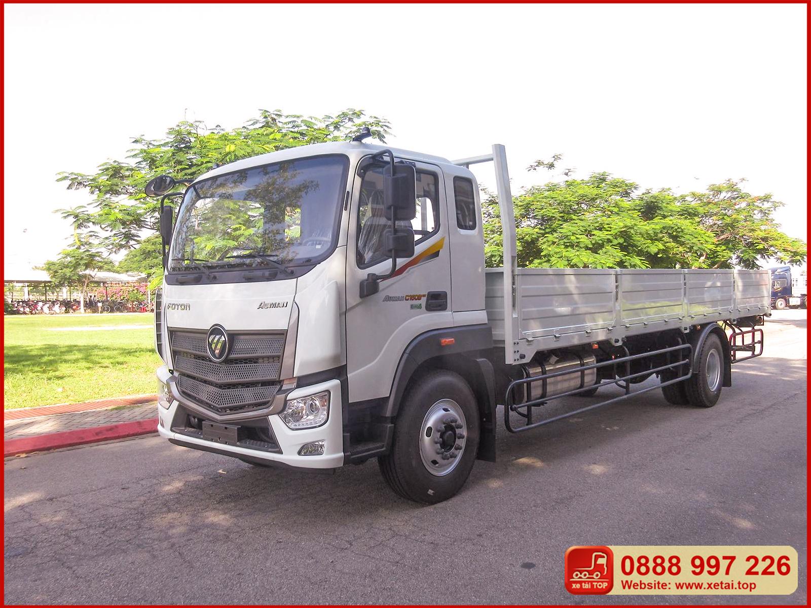 Xe tải Thaco Auman C160B tải trọng 7t5 thùng dài 8m2