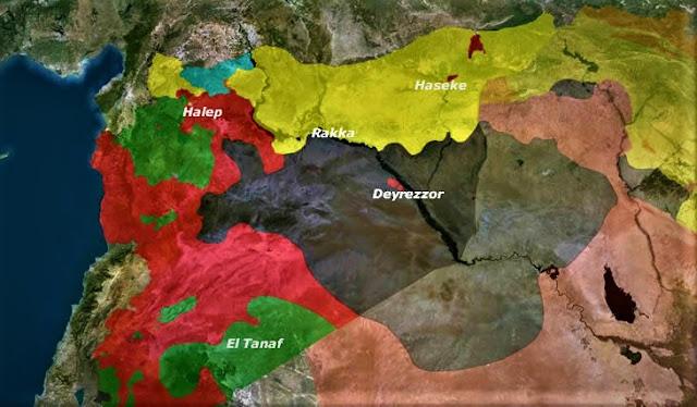 ABD den YPG ye Ürdün-Suriye-Irak talebi