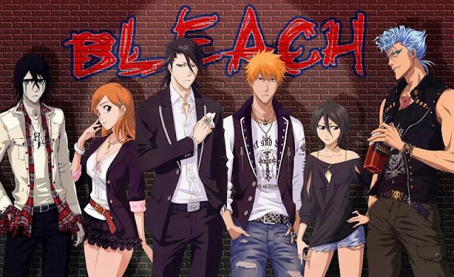Ảnh nền truyện tranh manga Bleach
