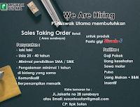 Loker Surabaya di PT. Wismak Utama Agustus 2020