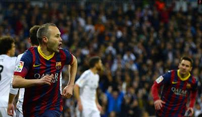 هدف انيستا ريال مدريد