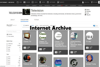 Internet Archive (watch tv shows online for free)