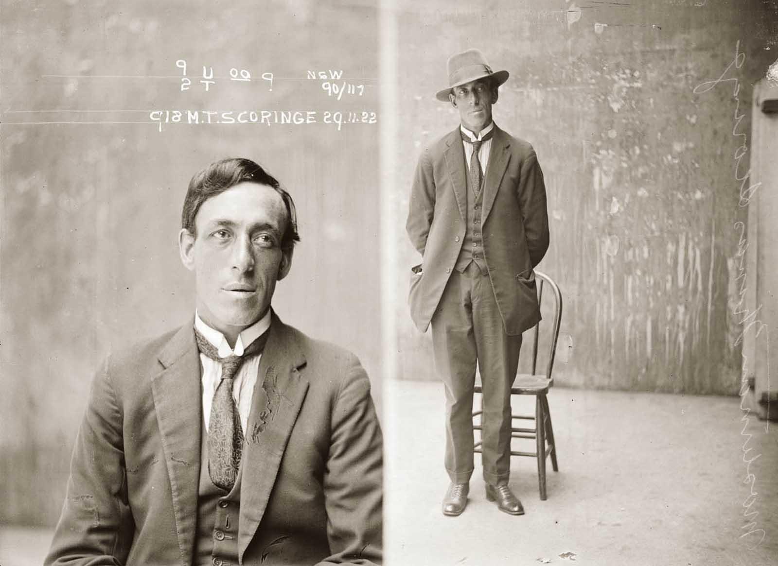 Masterman Thomas Scoringe. 1922.