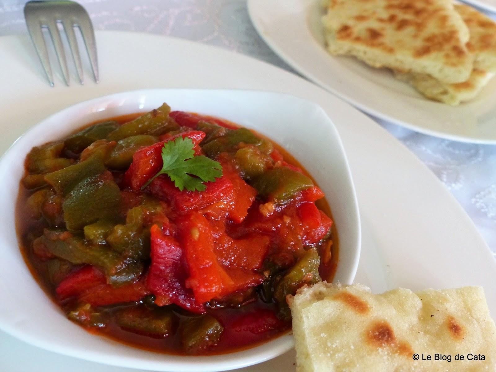 Chakchouka alg roise salade de poivrons grill s blogs - Blog cuisine algeroise ...