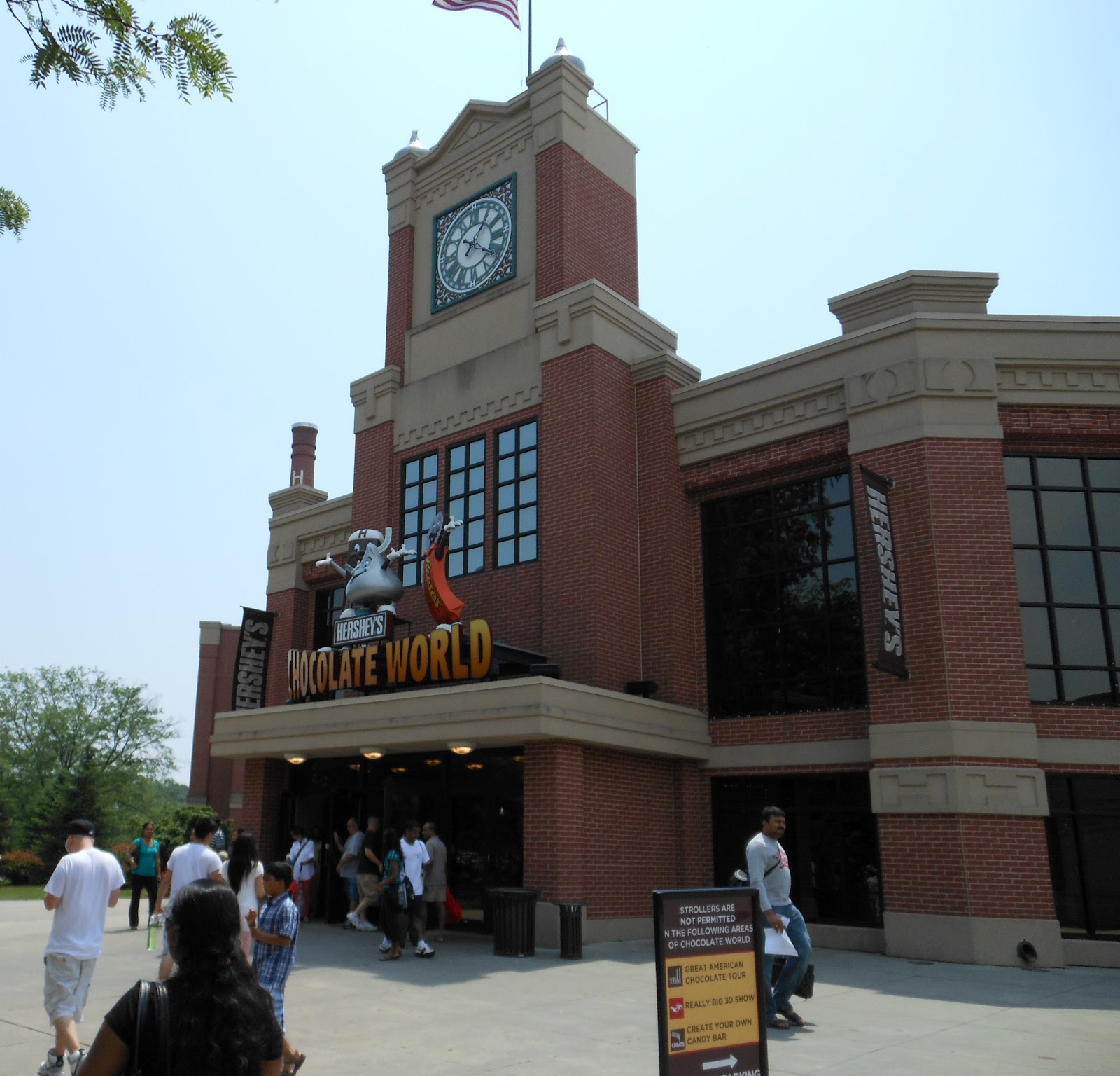 Amusement Authority Hershey Chocolate Factory Tour Review