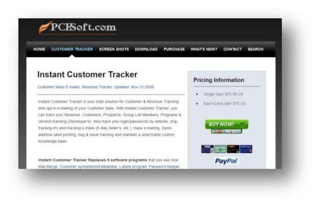 Instant Customer Tracker