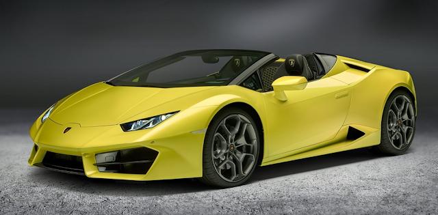 2018 Lamborghini Huracan RWD Spyder Design