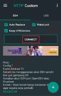 connect http custom