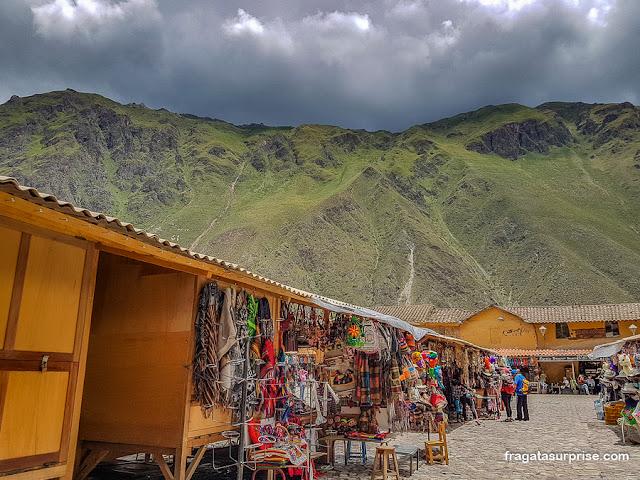 Vila inca de Ollantaytambo, Peru