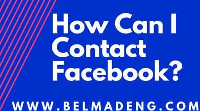 How Can I Contact Facebook