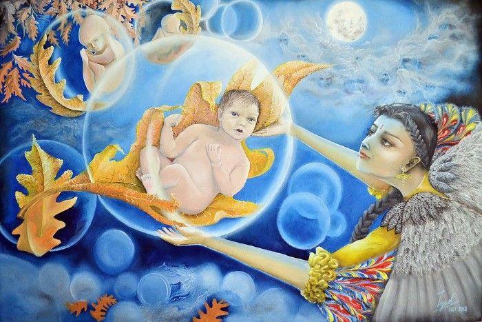 Индийский художник. Tejesh Kumar S