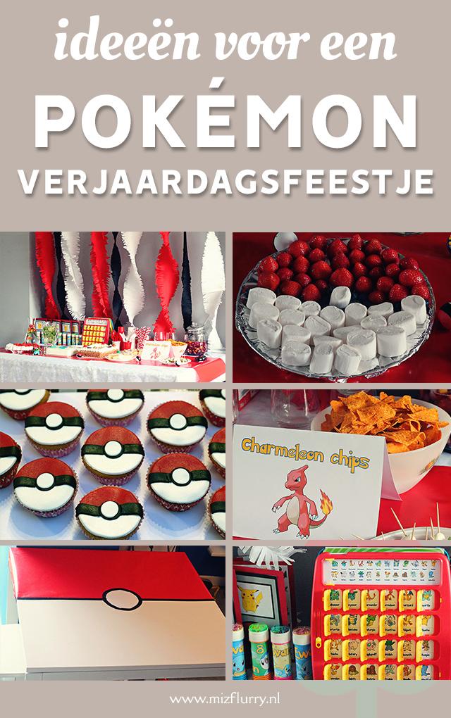 pokemon verjaardagsfeestje pinterest