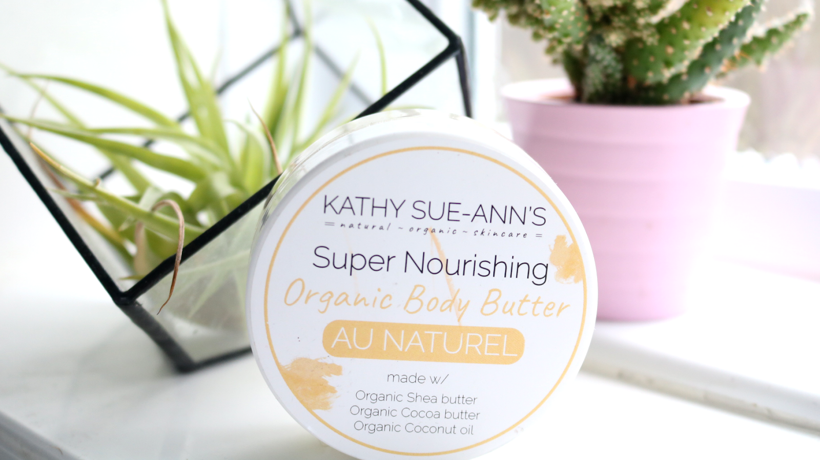 Kathy Sue-Ann's Super Moisturising Organic Body Butter in Au Naturel