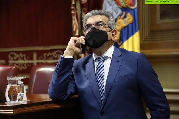 Rodríguez espera que las enmiendas mejoren la posición de Canarias en los Presupuestos estatales