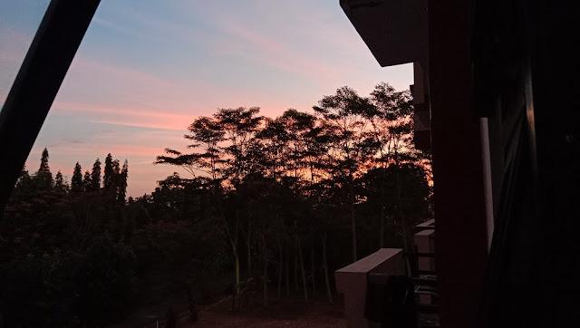 langit senja purwokerto