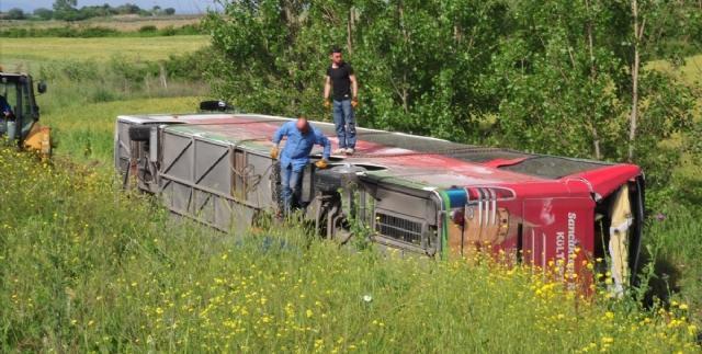 Şehitlik ziyaretinde otobüs faciası: 5 Ölü, 40 Yaralı