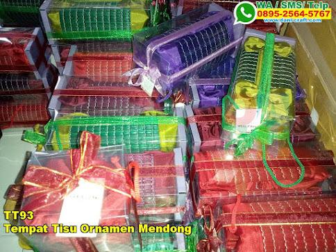 Harga Tempat Tisu Ornamen Mendong