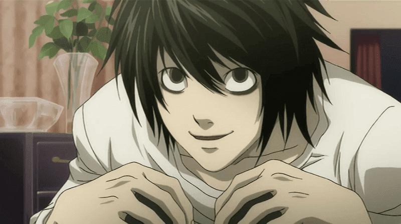 l, detektif terkenal di anime death note