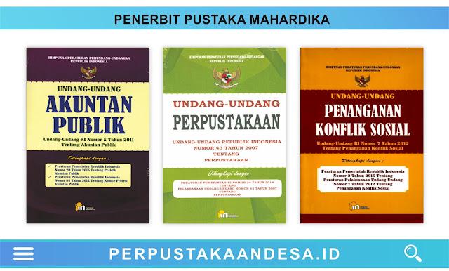 Daftar Judul Buku-Buku Penerbit Pustaka Mahardika