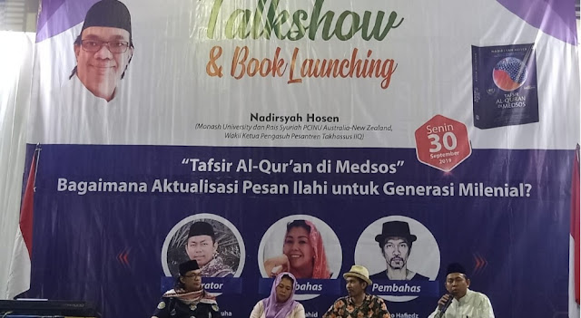 Gus Nadir Sebut Politisasi Al-Quran sebagai Penyakit Klasik Umat Islam