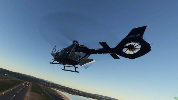 Helicopters arrive in Microsoft Flight Simulator