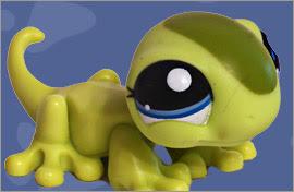 LPS Gecko Figures