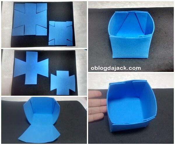 DIY caixinhas bem fácil de fazer