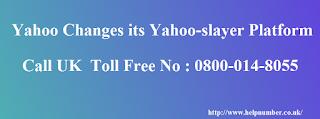 Yahoo customer care UK