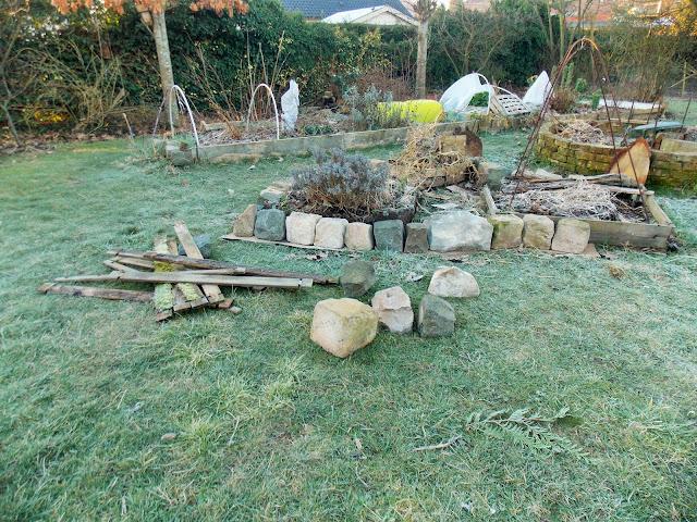 Travaux en cours au jardin