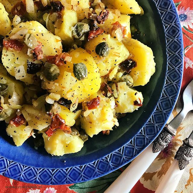 Wykwintne ziemniaki z kaparami