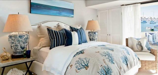 Beach-Themed Bedroom decor